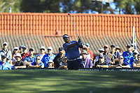 Poom Meesawat (THA) in action on the 1st during Round 2 Matchplay of the ISPS Handa World Super 6 Perth at Lake Karrinyup Country Club on the Sunday 11th February 2018.<br /> Picture:  Thos Caffrey / www.golffile.ie<br /> <br /> All photo usage must carry mandatory copyright credit (&copy; Golffile   Thos Caffrey)