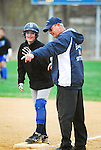 Blue Mountain High School softball player and coach