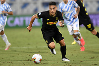 Lautaro Martinez of FC Internazionale in action during the Serie A football match between SPAL and Internazionale FC at Paolo Mazza stadium in Ferrara ( Italy ), July 16th, 2020. Play resumes behind closed doors following the outbreak of the coronavirus disease. Photo Andrea Staccioli / Insidefoto