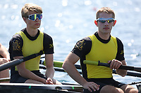 Race: 44  Event: Op Schools B 8+  Final<br /> <br /> Wallingford Regatta 2018<br /> <br /> To purchase this photo, or to see pricing information for Prints and Downloads, click the blue 'Add to Cart' button at the top-right of the page.