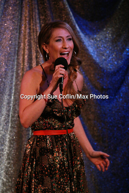 Kelly King sings at ICNY (Imperial Court of New York): Daytime Meets Nighttime Cabaret benefitting LifeBeat: Music Fights HIV and Jan Hus Neighborhood Church, two organizations giving back to the community at November 4, 2011 at the Jan Hus Playhouse Theatre, New York City, New York. (Photo by Sue Coflin/Max Photos)