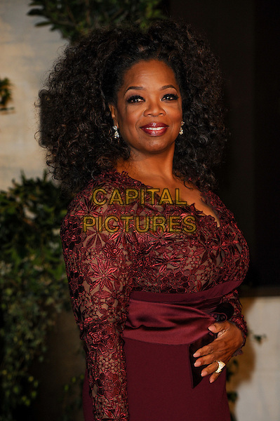 LONDON, ENGLAND - FEBRUARY 16: Oprah Winfrey attends EE British Academy Film Awards afterparty at the Grosvenor Hotel on February 16, 2014 in London, England. <br /> CAP/CJ<br /> &copy;Chris Joseph/Capital Pictures
