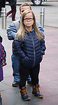 """Anna Johnston from The cast of TLC's """"7 Little Johnstons"""" filming promoting filming a visit to Times Square on January 4, 2019 in New York City."""