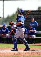 Travis Jones / Kansas City Royals 2008 Instructional League..Photo by:  Bill Mitchell/Four Seam Images