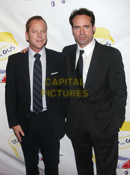 LOS ANGELES, CA - NOVEMBER 13: Keifer Sutherland &amp; Jason Patric at The 2013 &quot;Stand Up for Gus&quot; benefit onNovember 13, 2013 in Los Angeles, California, USA.<br /> CAP/MPI/mpi99<br /> &copy;mpi99/MediaPunch/Capital Pictures