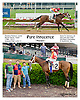 Pure Innocence winning at Delaware Park on 5/20/13 .