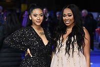 "Yinka Bokinni and Shayna Marie Birch-Campbell<br /> arriving for the ""Blue Story"" premiere at the Curzon Mayfair, London.<br /> <br /> ©Ash Knotek  D3534 14/11/2019"