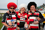 Counties Manukau fans. ITM Cup & Ranfurly Shield rugby match between the Counties Manukau Steelers and the Southland Stags played at Rugby Park, Invercargill, on Saturday 14th of August, 2010..Southland won the game 13 - 9 after leading 11 - 6 at halftime.