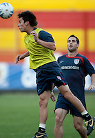 Jose Francisco Torres. Stadium Training prior to FIFA World Cup qualifiers USA vs El Salvador at Estadio Cuscatlán Stadium  on March 27, 2009.