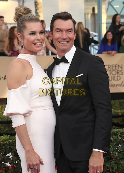 29 January 2017 - Los Angeles, California - Rebecca Romijn, Jerry O'Connell. 23rd Annual Screen Actors Guild Awards held at The Shrine Expo Hall. <br /> CAP/ADM/FS<br /> &copy;FS/ADM/Capital Pictures