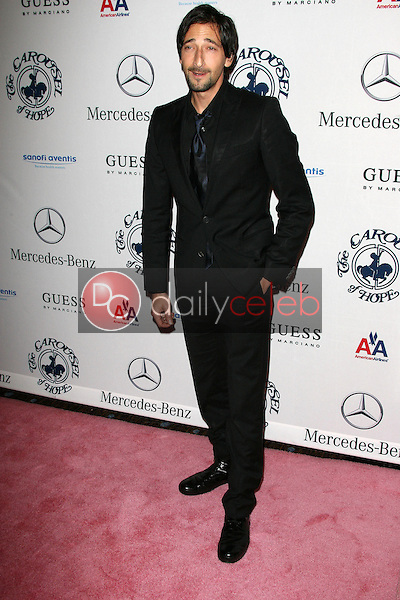 Adrien Brody<br /> at the 32nd Anniversary Carousel Of Hope Ball, Beverly Hilton Hotel, Beverly Hills, CA. 10-23-10<br /> David Edwards/Dailyceleb.com 818-249-4998