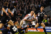 Twickenham, GREAT BRITAIN, Mike TINDALL,  during the  England vs Scotland, Calcutta Cup Rugby match played at the  RFU Twickenham Stadium on Sat 03.02.2007  [Photo, Peter Spurrier/Intersport-images]....