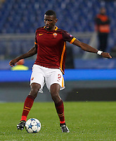 Calcio, Champions League: Gruppo E - Roma vs Bate Borisov. Roma, stadio Olimpico, 9 dicembre 2015.<br /> Roma's Antonio Ruediger during the Champions League Group E football match between Roma and Bate Borisov at Rome's Olympic stadium, 9 December 2015.<br /> UPDATE IMAGES PRESS/Riccardo De Luca