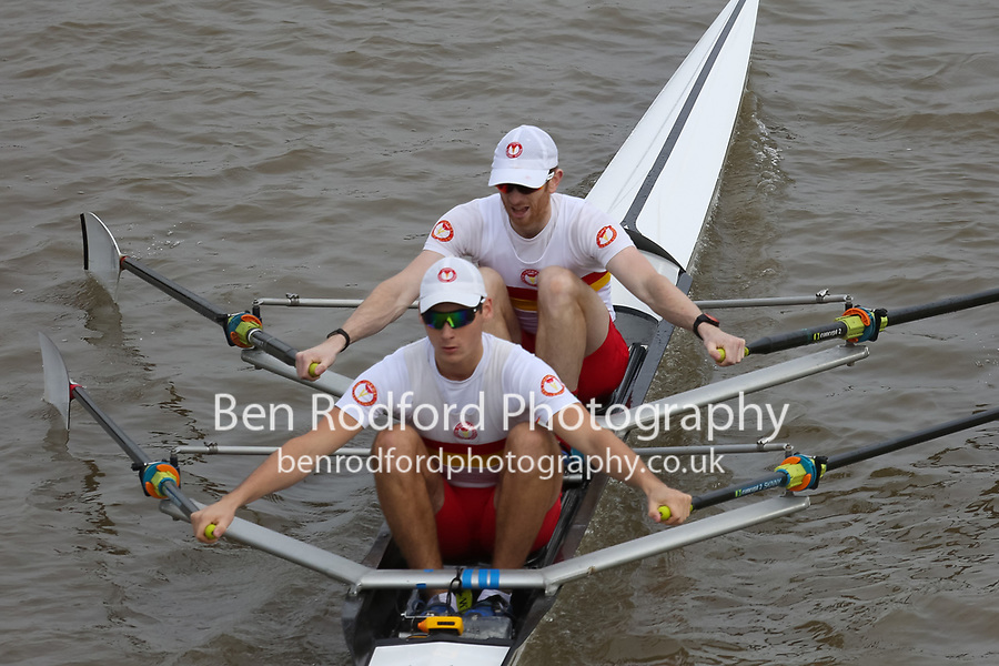 Crew: 9   TSS-JOSS    Tideway Scullers School    Op 2x Champ <br /> <br /> Pairs Head 2017<br /> <br /> To purchase this photo, or to see pricing information for Prints and Downloads, click the blue 'Add to Cart' button at the top-right of the page.