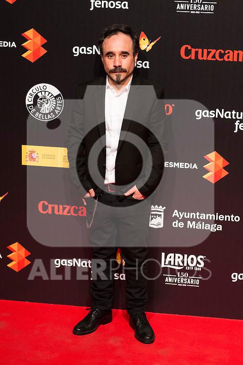Koldo Serra attends to the cocktail presentation of the XIX Malaga Film Festival at Circulo de Bellas Artes in Madrid. April 06, 2016. (ALTERPHOTOS/Borja B.Hojas)