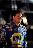 Apr 11, 2008; Avondale, AZ, USA; NASCAR Sprint Cup Series driver Michael Waltrip during practice for the Subway Fresh Fit 500 at Phoenix International Raceway. Mandatory Credit: Mark J. Rebilas-