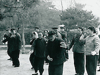 Taiji in Schanghai, China 1976