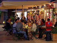 Restaurant am Hafen Darsena, Portoferraio, Elba, Region Toskana, Provinz Livorno, Italien, Europa<br /> Restaurant at Hafen Darsena, Portoferraio, Elba, Region Tuscany, Province Livorno, Italy, Europe