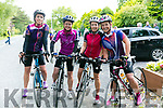 At the The Ring of North Kerry Cycle starting at FINUGE GAA on Saturday Lorraine Bowler, Tracy Smith, Kathy Jordan and Fiona O'Connor