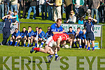 Laune Rangers Liam Hassett and East Kerry's Eoin Lawlor..   Copyright Kerry's Eye 2008