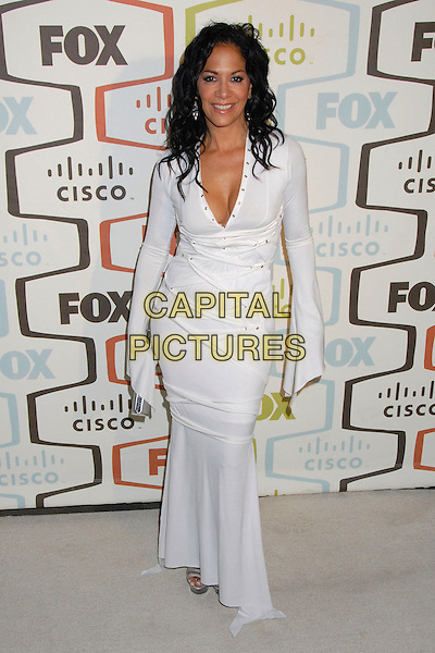SHEILA E..FOX Fall 2007 Eco-Casino Party at Area Nightclub, West Hollywood, California, USA..September 24th, 2007.full length white dress .CAP/ADM/BP.©Byron Purvis/AdMedia/Capital Pictures.