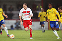 David Gray of Stevenage escapes from Franck Moussa of Coventry. Stevenage v Coventry City - npower League 1 - Lamex Stadium, Stevenage - 26th December, 2012. © Kevin Coleman 2012......
