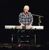 Graham Nash on keyboards. David Crosby, Graham Nash and very special guests at the Maui Arts &  Cultural Center.  A concert for Ruthie on August 29, 2013.