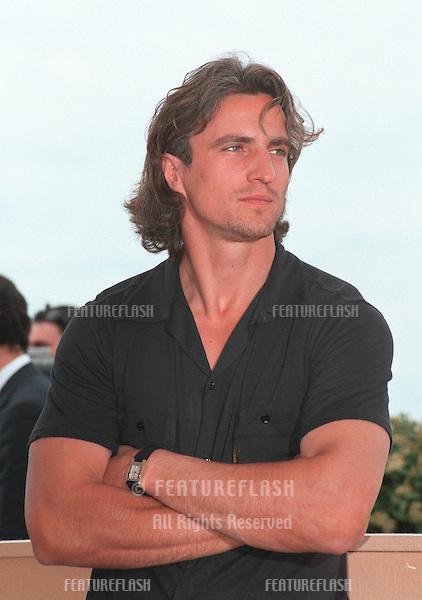 22MAY99:  Footballer DAVID GINOLA at the Cannes Film Festival where he's promoting L'Oreal..© Paul Smith / Featureflash