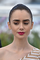 Lily Collins<br /> 'Okie' photocall at the 70th Cannes Film Festival, France, May 17, 2017<br /> CAP/Phil Loftus<br /> &copy;Phil Loftus/Capital Pictures /MediaPunch ***NORTH AND SOUTH AMERICAS, CANADA and MEXICO ONLY***
