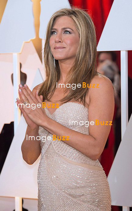 22.02.2015; Hollywood, California: 87TH OSCARS - JENNIFER ANNISTON<br /> <br /> Celebrity arrivals at the Annual Academy Awards, Dolby Theatre, Hollywood.<br /> Mandatory Photo Credit: NEWSPIX INTERNATIONAL<br /> <br />               **ALL FEES PAYABLE TO: &quot;NEWSPIX INTERNATIONAL&quot;**<br /> <br /> PHOTO CREDIT MANDATORY!!: NEWSPIX INTERNATIONAL(Failure to credit will incur a surcharge of 100% of reproduction fees)<br /> <br /> IMMEDIATE CONFIRMATION OF USAGE REQUIRED:<br /> Newspix International, 31 Chinnery Hill, Bishop's Stortford, ENGLAND CM23 3PS<br /> Tel:+441279 324672  ; Fax: +441279656877<br /> Mobile:  0777568 1153<br /> e-mail: info@newspixinternational.co.uk