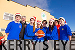 Getting ready for the Castleisland Stephen's Day Basketball blitz, were Front l-r Greg Curran, Aoife O'Connor, Nicole Downey, Saoirse Casey, Josh Sheehy.  Back l-r Vincent Barry, Gavin Keane, Brid Kenny.