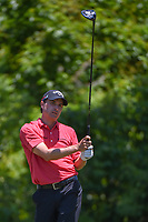 Kevin Kisner (USA) watches his tee shot on 2 during Round 4 of the Zurich Classic of New Orl, TPC Louisiana, Avondale, Louisiana, USA. 4/29/2018.<br /> Picture: Golffile | Ken Murray<br /> <br /> <br /> All photo usage must carry mandatory copyright credit (&copy; Golffile | Ken Murray)