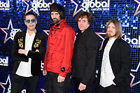 Kasabian arriving for the Global Awards 2018 at the Apollo Hammersmith, London, UK. <br /> 01 March  2018<br /> Picture: Steve Vas/Featureflash/SilverHub 0208 004 5359 sales@silverhubmedia.com