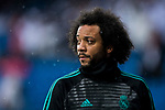 Marcelo Vieira Da Silva of Real Madrid looks on prior to the La Liga 2017-18 match between Real Madrid and Villarreal CF at Santiago Bernabeu Stadium on January 13 2018 in Madrid, Spain. Photo by Diego Gonzalez / Power Sport Images