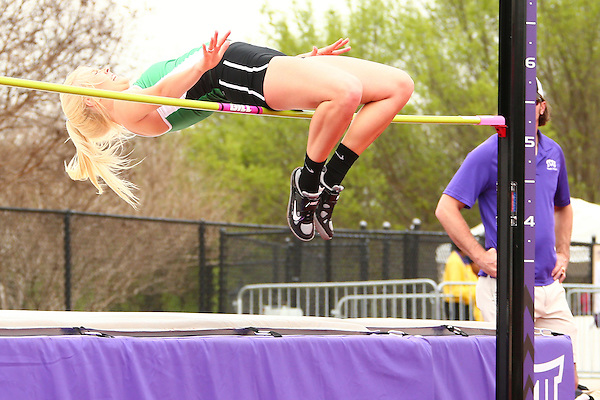 KATY, TX - MARCH 18:  Mean Green T & F at TCU in Ft Worth on March 18, 2016 in Ft Worth, Texas.(Photo Rick Yeatts)