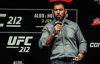 RIO DE JANEIRO, RJ, 02.06.2017 – UFC-RJ – Atonio Rodrigo Nogueira, ex lutador visto durante pesagem para o UFC 212 na Arena Jeunesse, na zona oeste da cidade do Rio de Janeiro, na noite desta sexta-feira (02). (Foto: Jayson Braga / Brazil Photo Press)