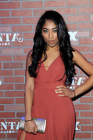 "LOS ANGELES - FEB 19:  Adriyan Rae at the ""tlanta Robbin"" LA Premiere Screening at the Theatre at Ace Hotel on February 19, 2018 in Los Angeles, CA"