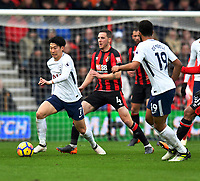 Tottenham Hotspur's Son Heung-Min <br /> <br /> Bournemouth 1 - 4 Tottenham Hotspur<br /> <br /> Photographer David Horton/CameraSport<br /> <br /> The Premier League - Bournemouth v Tottenham Hotspur - Sunday 11th March 2018 - Vitality Stadium - Bournemouth<br /> <br /> World Copyright &copy; 2018 CameraSport. All rights reserved. 43 Linden Ave. Countesthorpe. Leicester. England. LE8 5PG - Tel: +44 (0) 116 277 4147 - admin@camerasport.com - www.camerasport.com