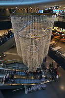 Christmas decoration, Airport, Zurich, Switzerland, Europe