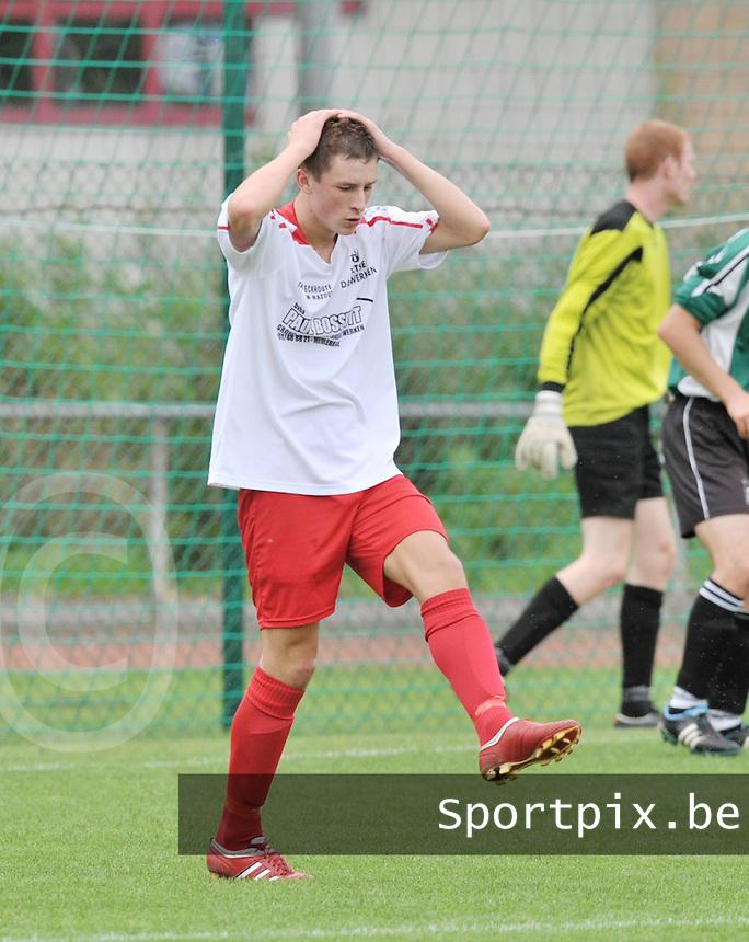 KFC Meulebeke : Tim Van Den Bogaerde.foto VDB / BART VANDENBROUCKE