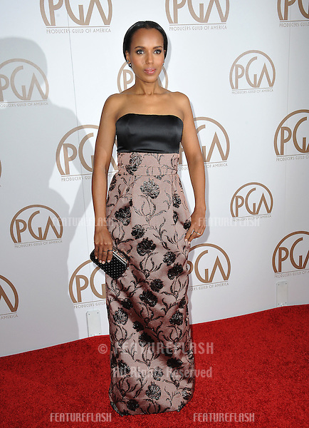 Kerry Washington at the 26th Annual Producers Guild Awards at the Hyatt Regency Century Plaza Hotel.<br /> January 24, 2015  Los Angeles, CA<br /> Picture: Paul Smith / Featureflash