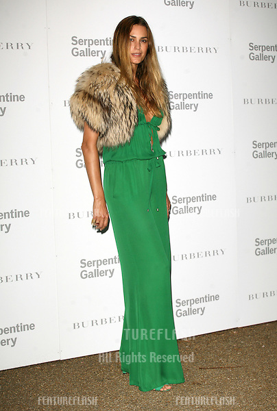 Yasmin Le Bon attends the Burberry Serpentine Summer Party, at the Serpentine Gallery, London. 28/06/2011  Picture by: Alexandra Glen / Featureflash