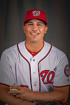 22 February 2019: Washington Nationals pitcher Sammy Solis poses for his Photo Day portrait at the Ballpark of the Palm Beaches in West Palm Beach, Florida. Mandatory Credit: Ed Wolfstein Photo *** RAW (NEF) Image File Available ***