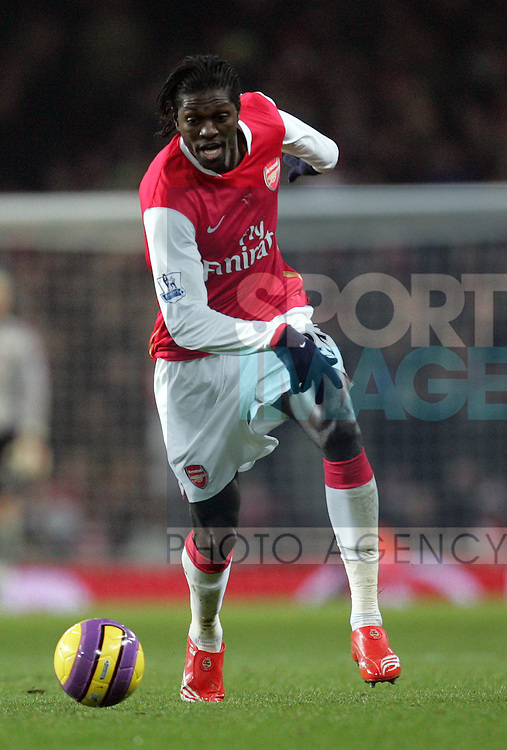 Arsenal's Emmanuel Adebayor