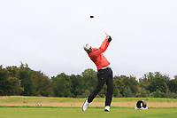 Patrick Roos (FIN) on the 11th tee during Round 2 of the Bridgestone Challenge 2017 at the Luton Hoo Hotel Golf &amp; Spa, Luton, Bedfordshire, England. 08/09/2017<br /> Picture: Golffile | Thos Caffrey<br /> <br /> <br /> All photo usage must carry mandatory copyright credit     (&copy; Golffile | Thos Caffrey)