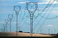 Planta de produção de energia eólica Delta 3 e linhas de transmissão.<br />Localizada nos municípios de Barreirinhas e Paulino Neves, o complexo eólico iniciou as operações em 2017.<br /><br />Capacidade Instalada (MW)220,8<br /> <br /> Maranhão, Brasil.<br />©Paulo Santos<br />05 2018