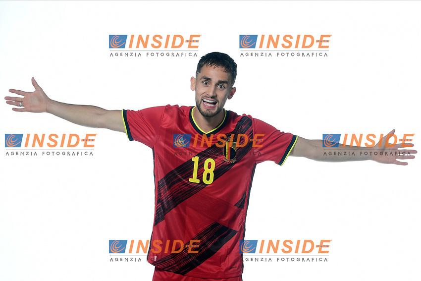 Adnan Januzaj midfielder of Belgium  <br /> Tubize 12/11/2019 <br /> Calcio presentazione della nuova maglia della Nazionale del Belgio <br /> Photo De Voecht  Kalut/Photonews/Panoramic/insidefoto<br /> ITALY ONLY