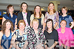 LADIES NIGHT: The ladies from Causeway having a great time at the Kingdom Greyhound Stadium Night at the Dogs on Saturday seated l-r: Suzanne O'Connell, Mary B. Donegan Leane, Mary Carroll Maria Donegan and Kathleen Collins. Back l-r: Bernadette, Catriona and Tina O'Connor, Mary O'Carroll and Breda Fitzgerald.
