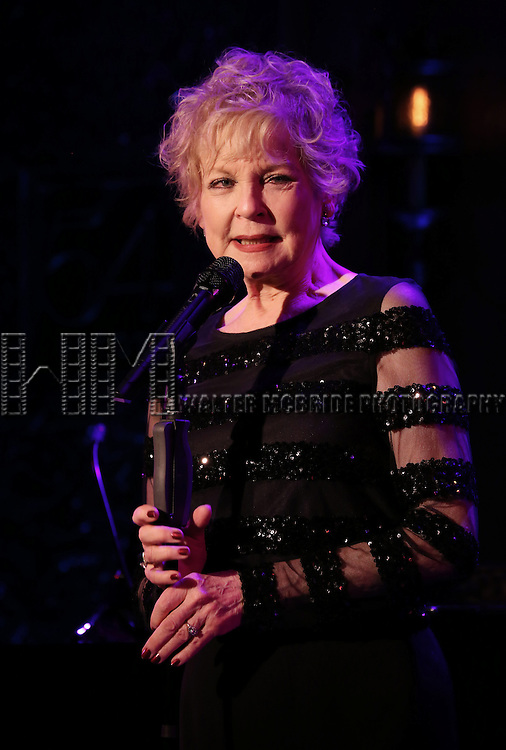 """Penny Fuller performs A Special Press Preview of her upcoming show """"54 Below sings Applause""""  at 54 Below on April 4, 2014 in New York City."""