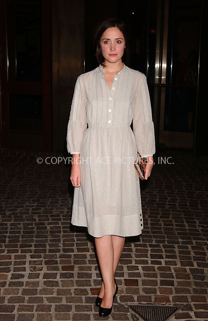 WWW.ACEPIXS.COM . . . . . ....October 6 2007, New York City....Rose Byrne arriving at a screening of 'Things we lost in the Fire' presented by The Cinema Society at the Tribeca Grand Hotel....Please byline: KRISTIN CALLAHAN - ACEPIXS.COM.. . . . . . ..Ace Pictures, Inc:  ..(646) 769 0430..e-mail: info@acepixs.com..web: http://www.acepixs.com